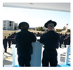 United States Coast Guard Training Center Caped May New Jersey by Susan  Tischler