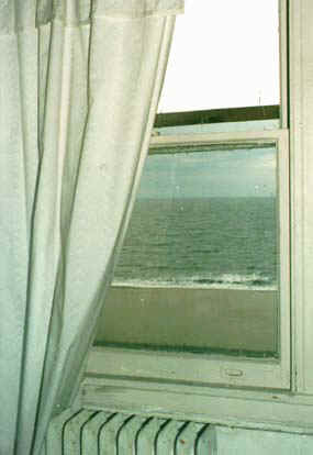 View from one of the Admiral's windows.