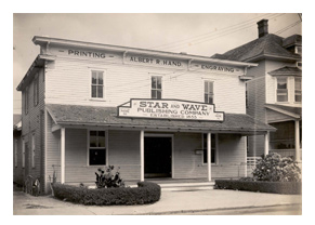 The old Star and Wave office on Perry Street