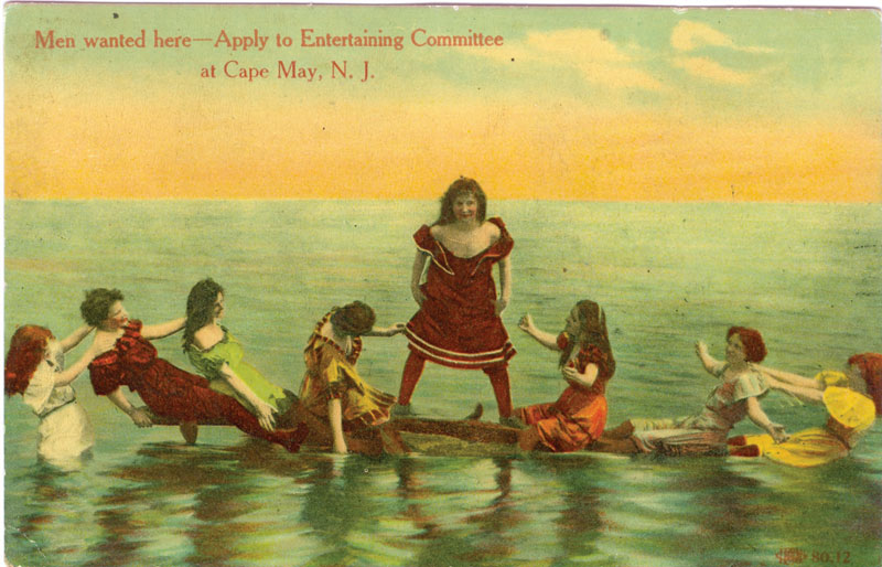 vintage cape may postcards
