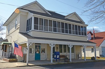 The Cape May Point post office today