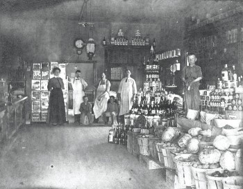 The interior of Springer General Store