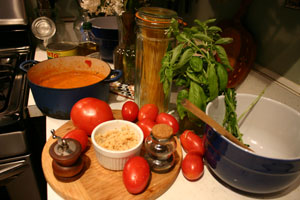 15 Minute Pomodoro Sauce