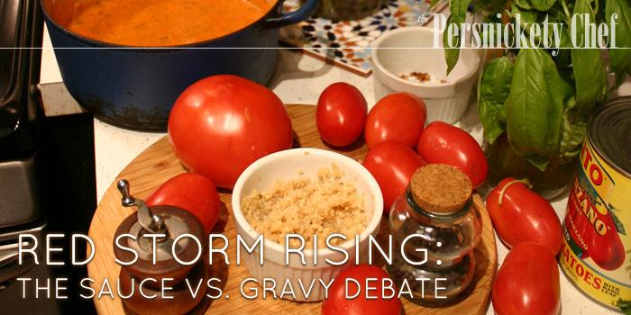 Red Storm Rising: The Sauce vs. Gravy Debate