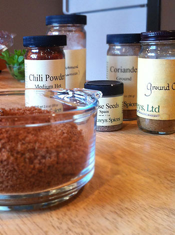 Sweet and Spicy spice mix