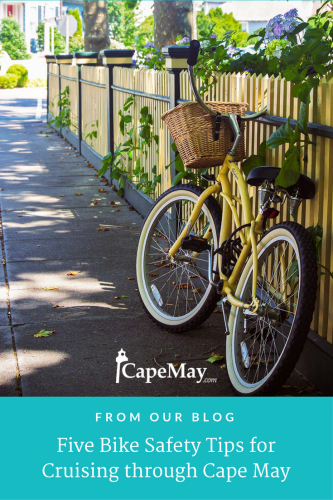 Five bike safety tips for cruising through Cape May   CapeMay.com
