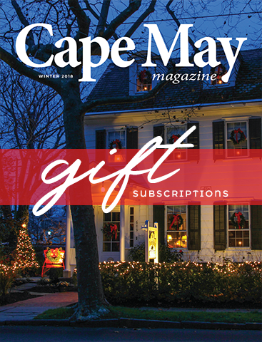 Winter 2018 issue of Cape May Magazine