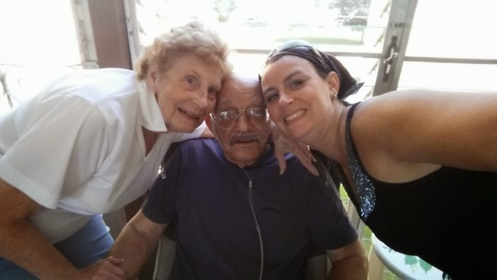 My Grandparents and me