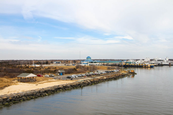 Cape May-Lewes Ferry, David Douglass Sr. Memorial Park, Cape May Canal