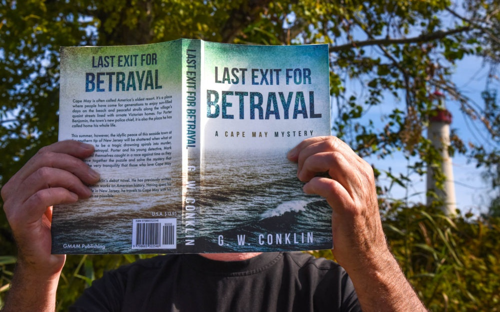 """Last Exit For Betrayal"" near the Cape May Lighthouse"