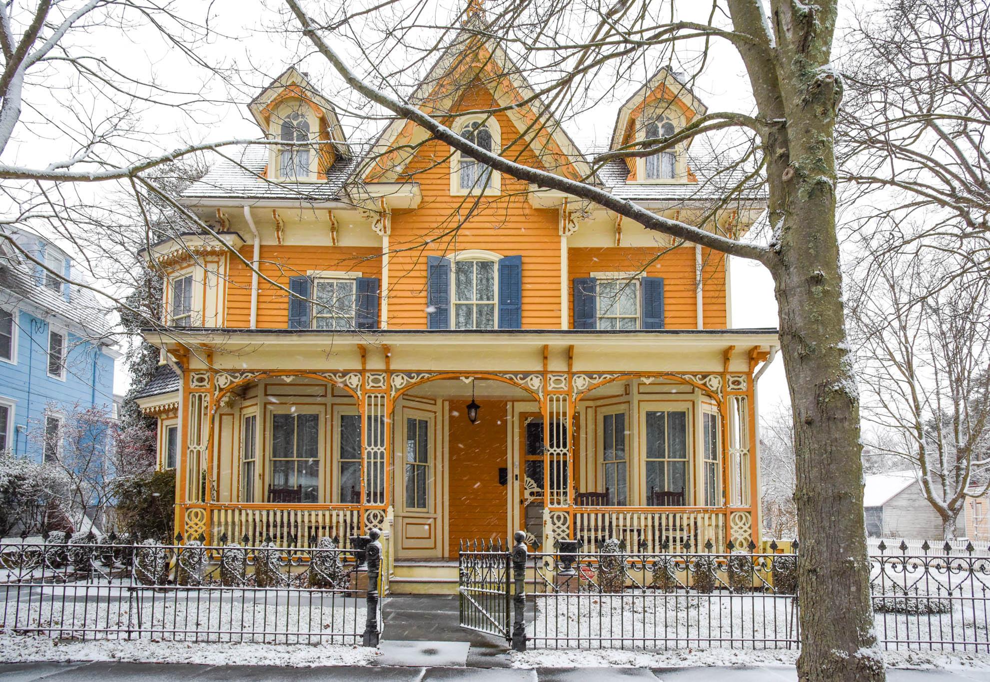 Joseph Hall Cottage on Hughes Street