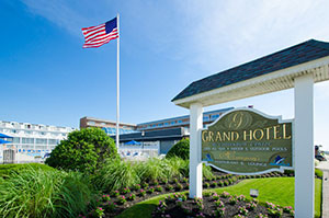 The Grand Hotel in Cape May, NJ