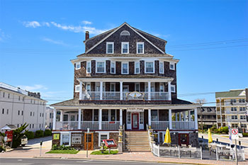 The Hotel Macomber in Cape May