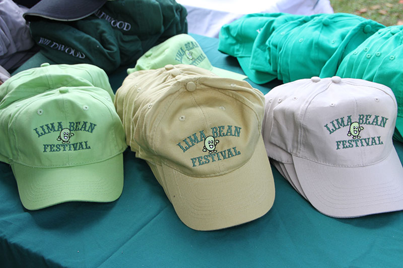 Lima Bean Festival baseball caps
