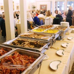 Breakfast buffet at Aleathea's