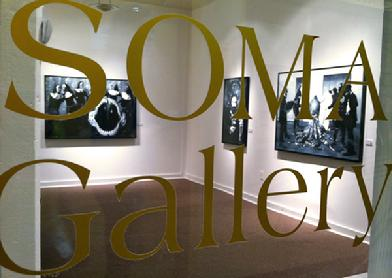 Window at SOMA Gallery