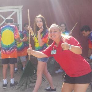 Teens at Zoo Camp
