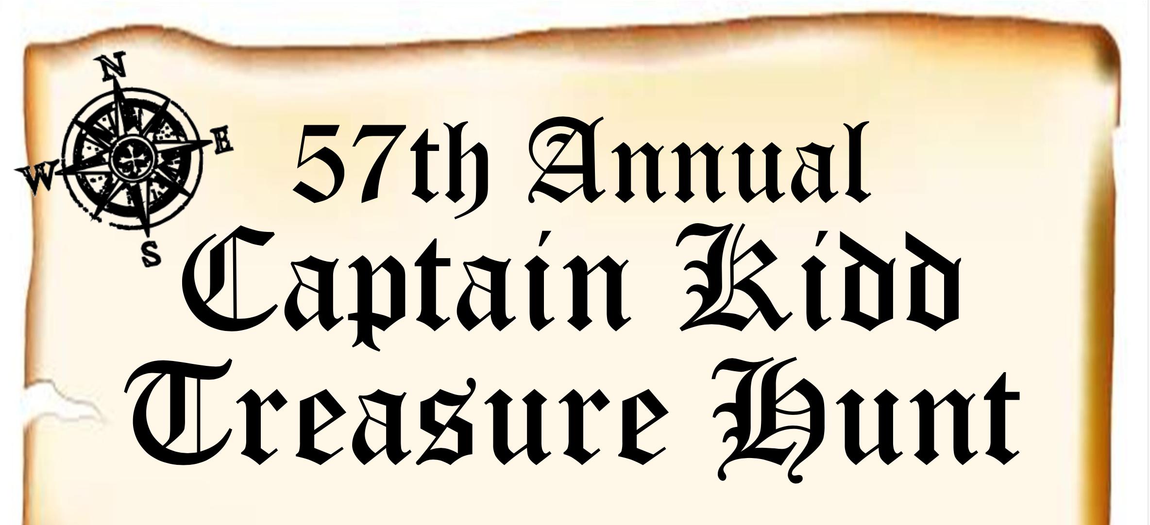 57th Annual Cape May Captain Kidd Treasure Hunt