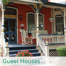 Cape May guest houses, guest suites, and apartments