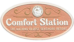 Comfort Station, Cape May public restrooms, Cape May bathrooms