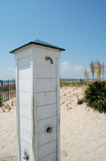 Outdoor showers Cape May NJ