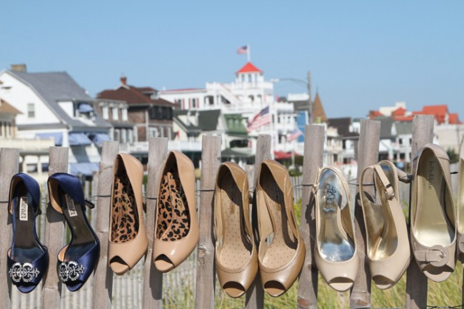 Shoeless in Cape May