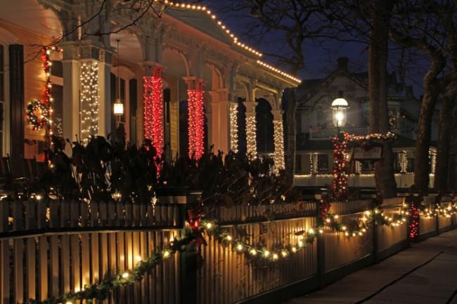 Lights on Columbia Street