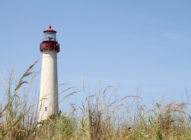 The Cape May Lighthouse