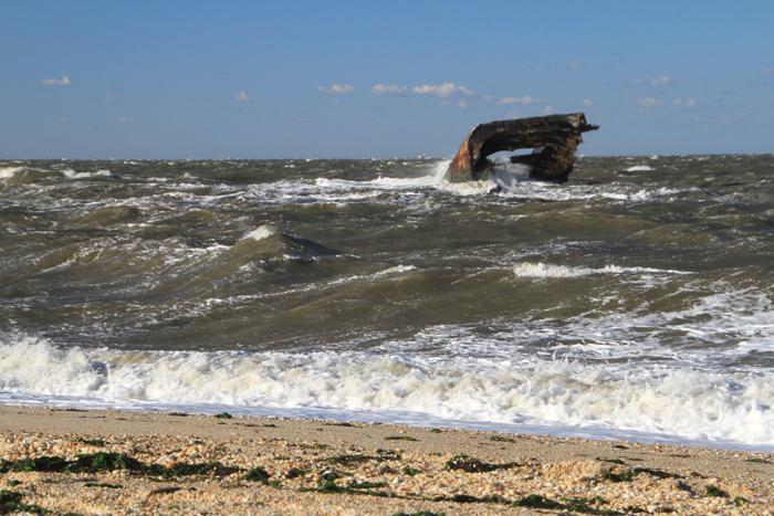 Very windy at Sunset Beach