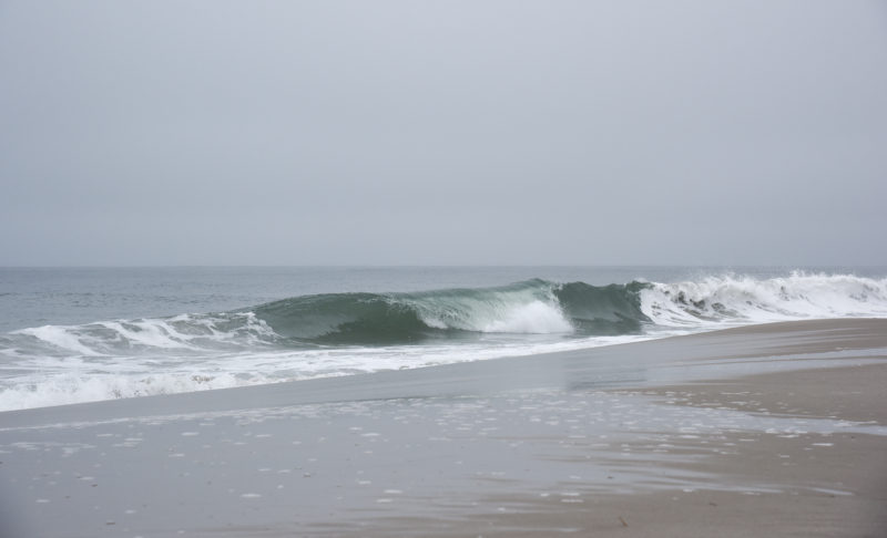 Waves at Poverty Beach