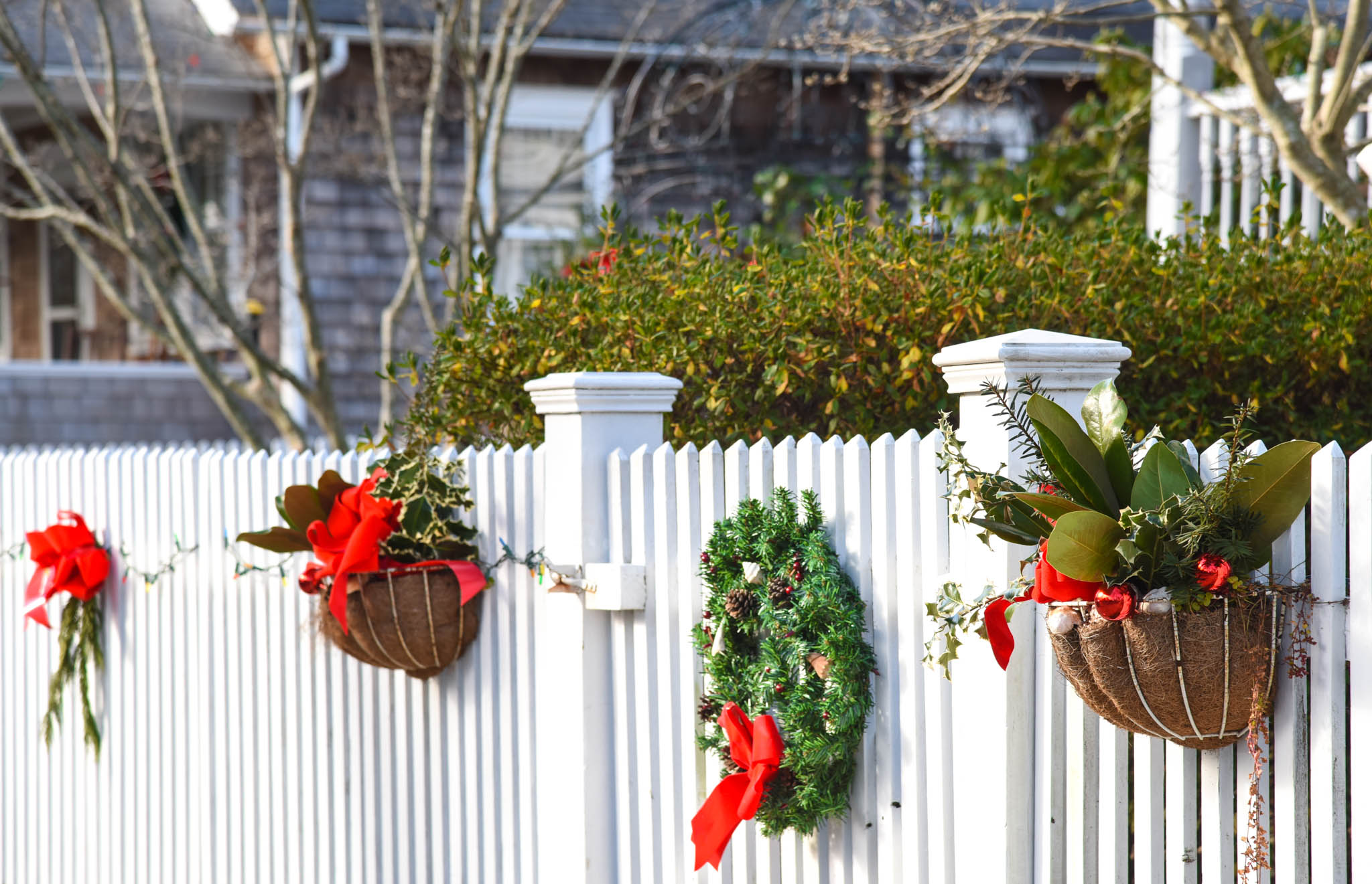 fence with Decorations