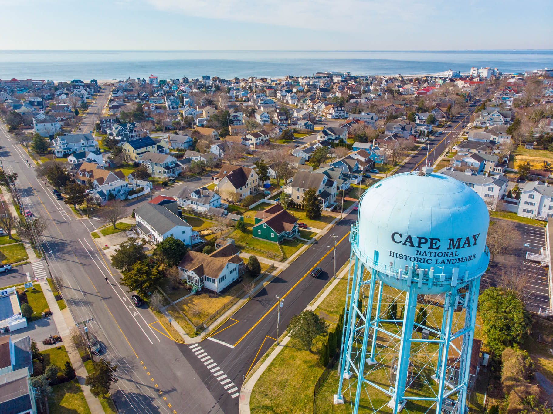 Aerial View of Cape May