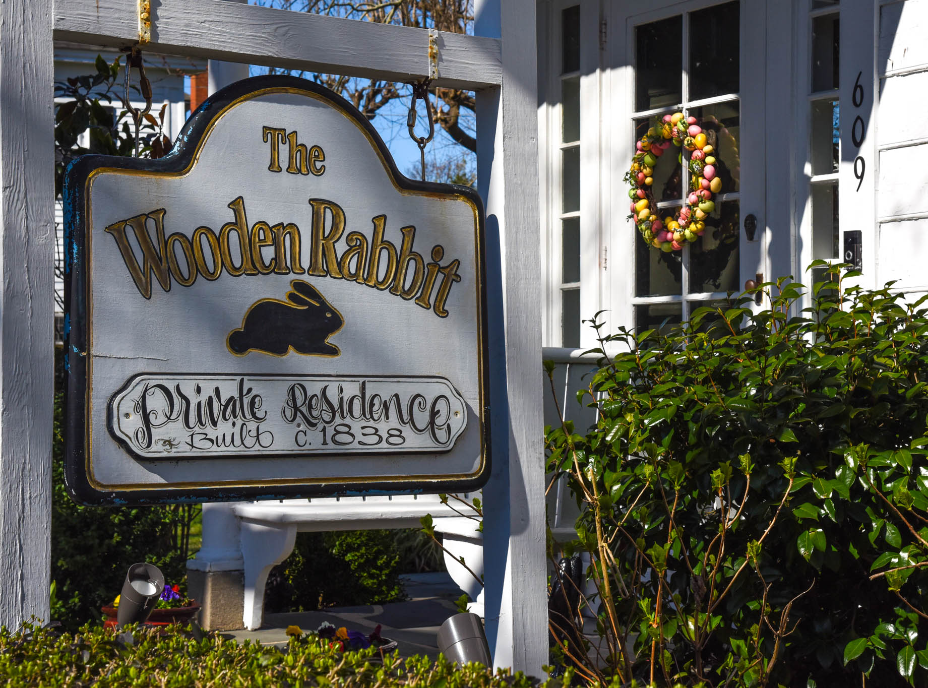 The Wooden Rabbit is A Private Residence