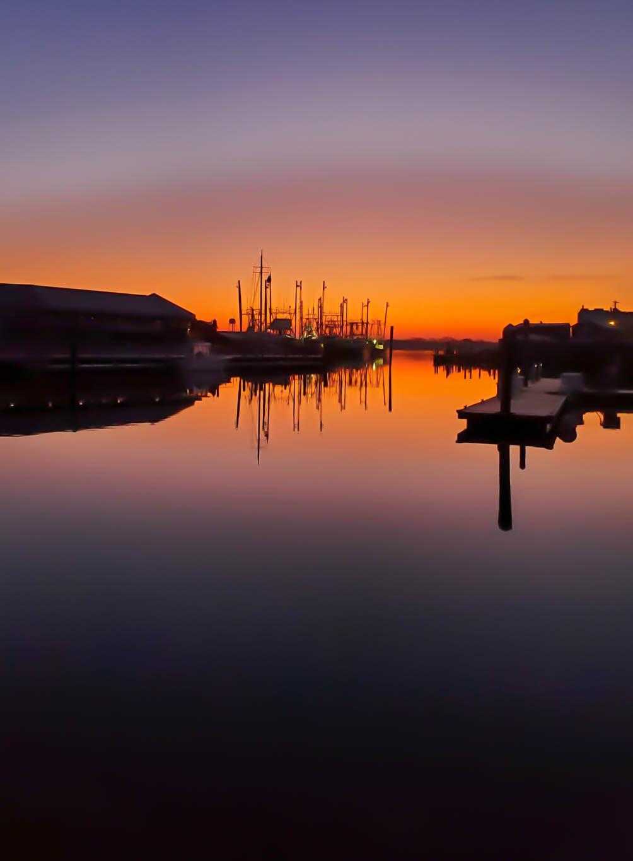 Stunning Morning at the Cape May Harbor