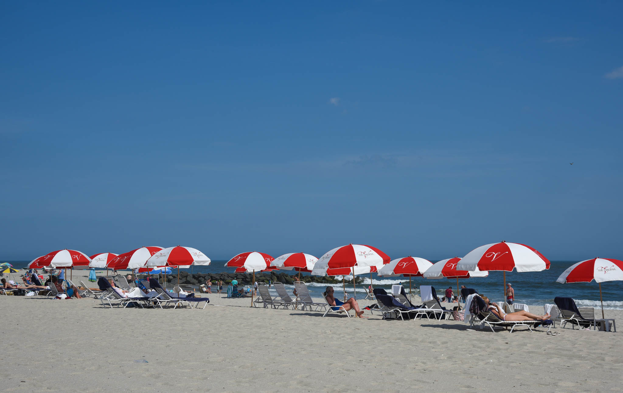 Beach VIbe with The Virgina Umbrellas