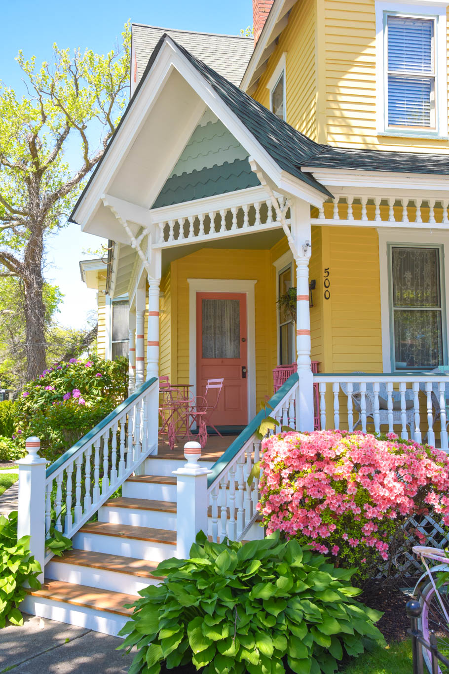 A Pastels porch In West Cape May