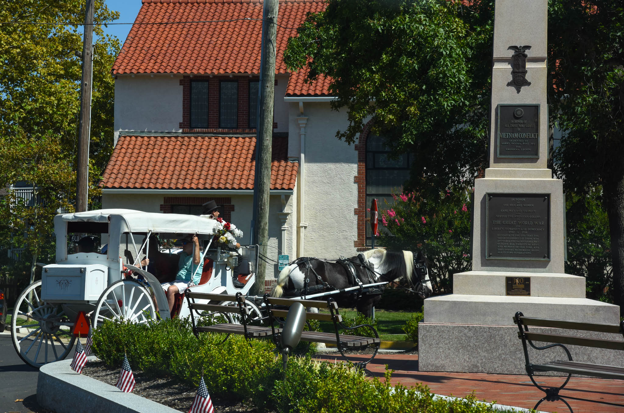 Relax And Enjoy on the Carriage ride