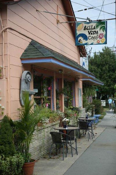 Bella Vida Garden Cafe Cape May Nj