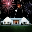 Clubhouse with Fireworks