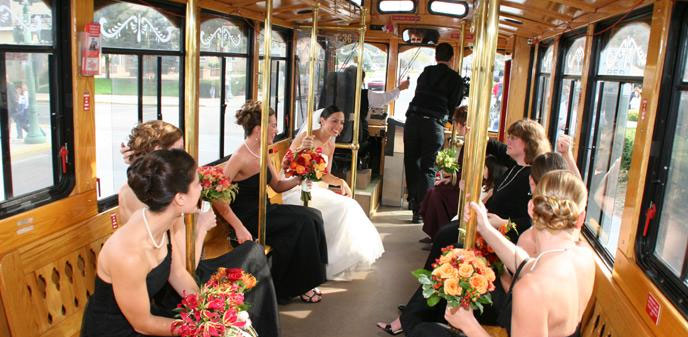 Great American Trolley Company Cape May Beach Weddings